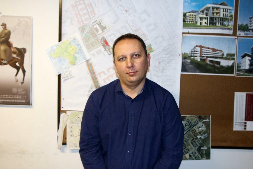 Grzegorz Harasymiuk (41 l.), prezes S.M. Ujeścisko: