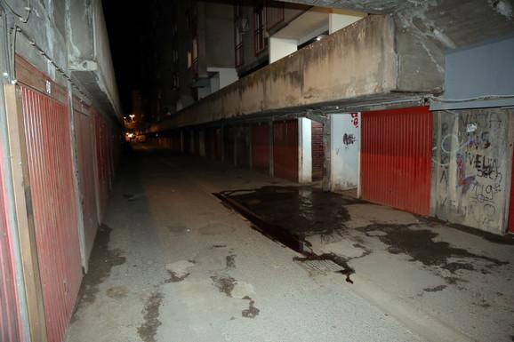Muškarac je iskrvario blizu garaže koju je iznajmljivao