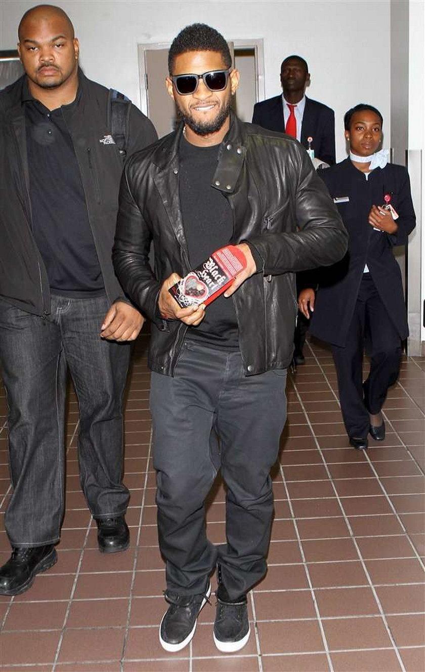 Usher to łasuch!