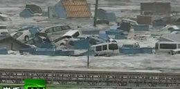 Nowe przerażające filmy z tsunami w Japonii. Wideo