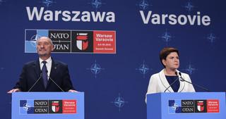 Macierewicz: Szczyt NATO to wydarzenie, na które czekały pokolenia Polaków