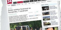 Wypadek polskiego autokaru w Czechach. Są ranni