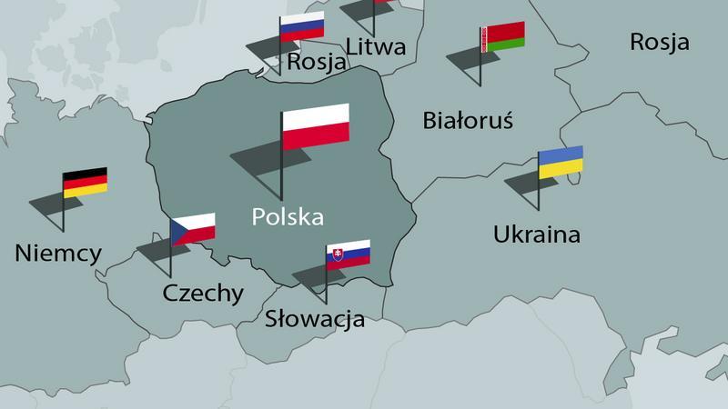 Potencjały militarne Polski i państw ościennych [INFOGRAFIKA]
