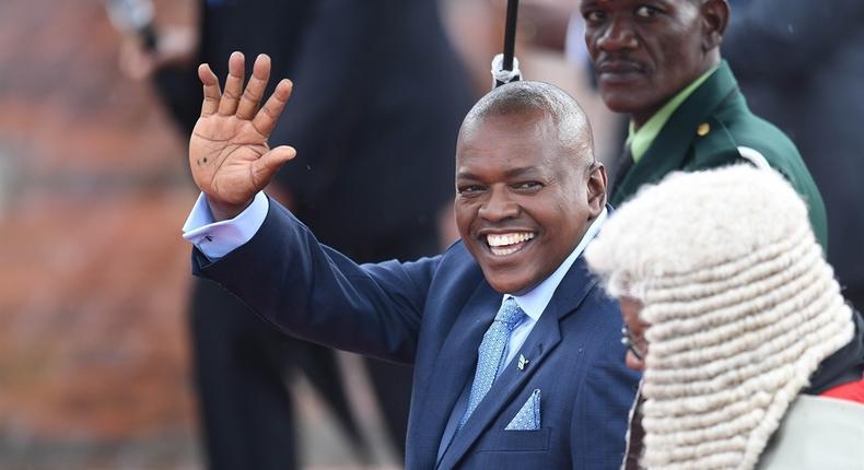 Botswana's President Mokgweetsi Masisi.