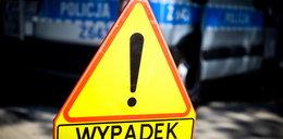 Wypadek radiowozu w Poznaniu! Ranni policjanci