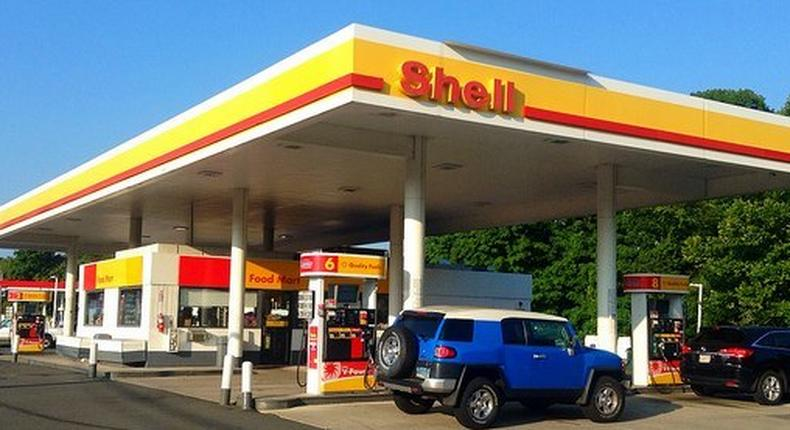 A branch of the Shell filling station