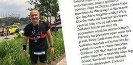 Marcinkiewicz na zawodach sportowych. Nagle pojawił się... komornik