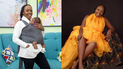 Singer Ruth Matete reveals daughter's Face for the first time (Photo)