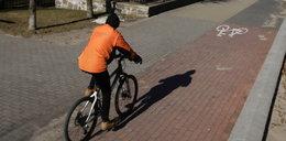 40 ludzi i pies tropiący poszukiwało rowerzysty