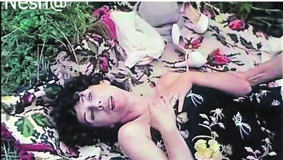 """Kristina u čuvenom filmu """"Maratonci trče počasni krug"""", 1982. godina"""