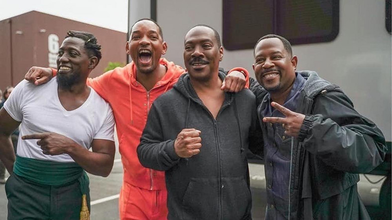Wesley Snipes, Will Smith, Eddie Murphy and Martin Lawrence at Tyler Perry's Studio [Instagram/tylerperrystudios]