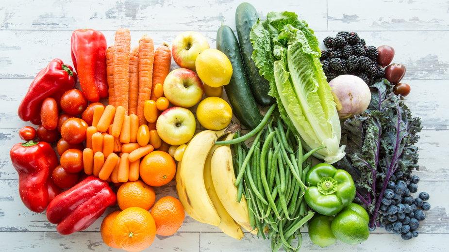 Kolor warzyw i owoców a działanie prozdrowotne