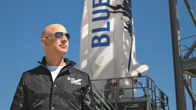 Jeff Bezos. Miliarder w kosmosie