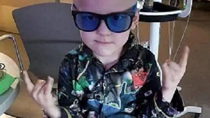 USA. 5-letni Garrett Matthias  zaplanował własny pogrzeb