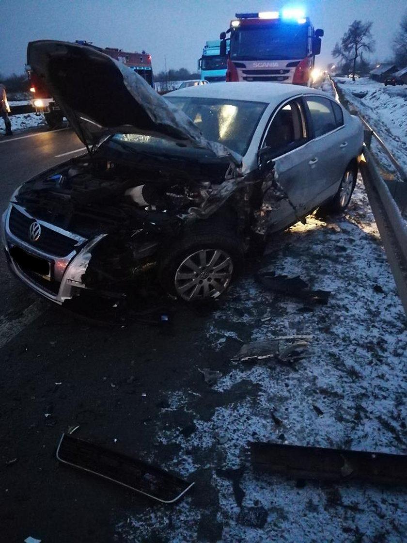 Wypadek w Trześni