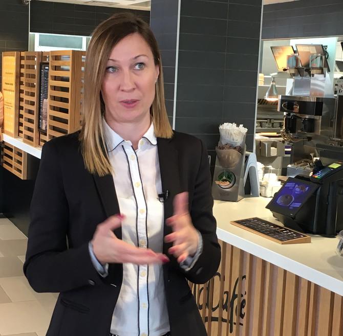 Deasanka Landauer,  direktorka marketinga kompanije McDonald's u Srbiji