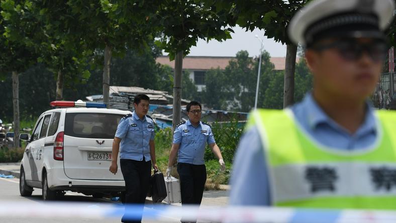 Chiny: wybuch w przedszkolu spowodowała eksplozja bomby