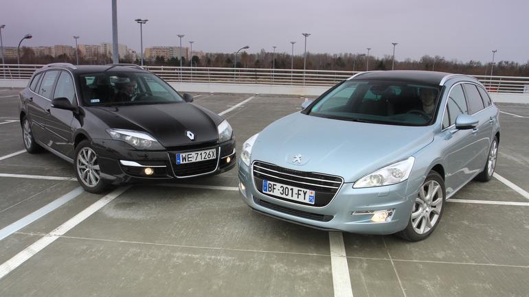 Używan kombi z dieslem w dobej cenie - Renault Laguna kontra Peugeot 508