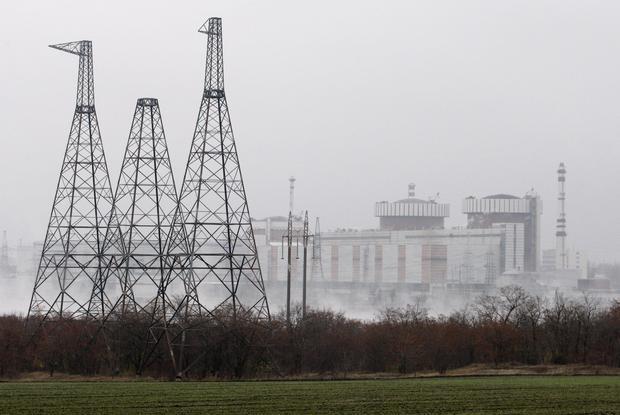 Ukraińska elektrownia w Jużnoukrajinsku - około 600 kilometrów od granic Polski