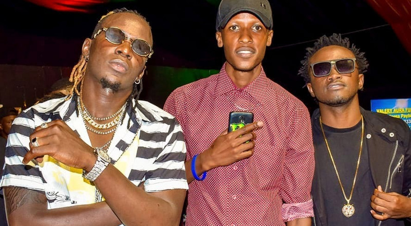Death re-unites Bahati and Willy Paul (Photos)