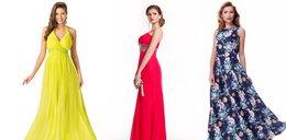 Piękne długie sukienki na wesele do 150 zł