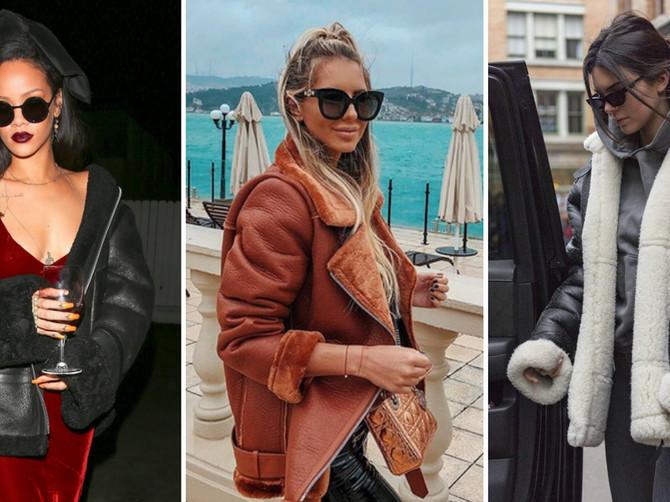 GREJE kao da ste OGRNULI ĆEBE : Godinama je niko nije nosio, a ove zime slavne lepotice ne skidaju ovu jaknu