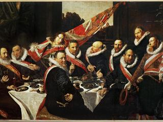 Frans Hals / Feast of Officers / 1616