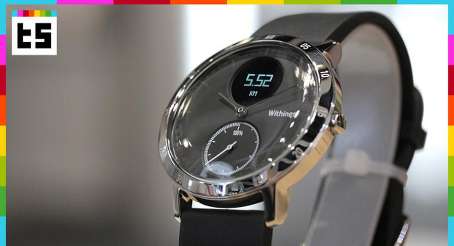Withings Steel HR im Hands-on: Uhr mit Pulssensor & Display