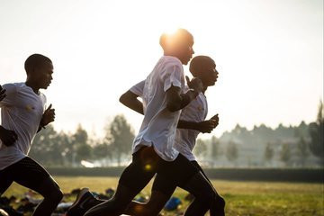 Eliud Kipchoge trainning for the INEOS 1:59