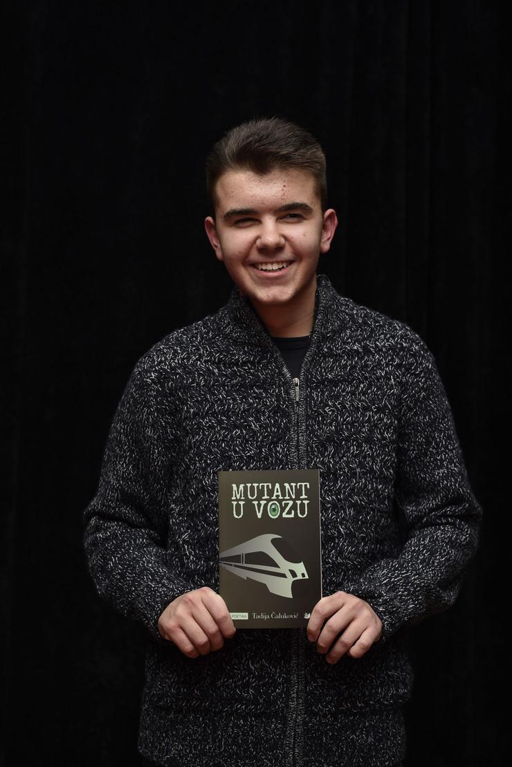 Tadija Čaluković, promocija knjige Mutant u vozu_251218_RAS foto Snezana Krstic