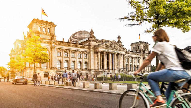 siedziba niemieckiego parlamentu