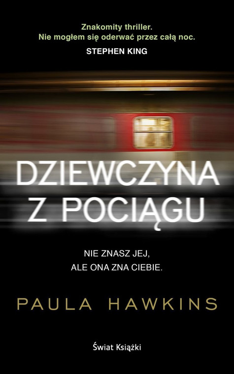 """Book cover """"The girl on the train"""""""