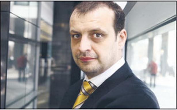 Maciej Walęczak, dyrektor wydziału produktów, departament bankowości transakcyjnej, Bank Millennium Fot. Wojciech Górski