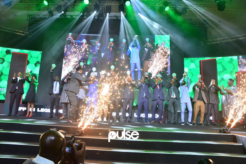 Super Eagles class of 94 was honoured at the 2019 NFF Awards  (Pulse)
