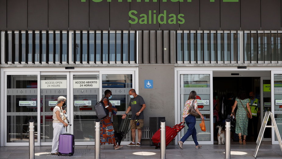 Port lotniczy w Madrycie
