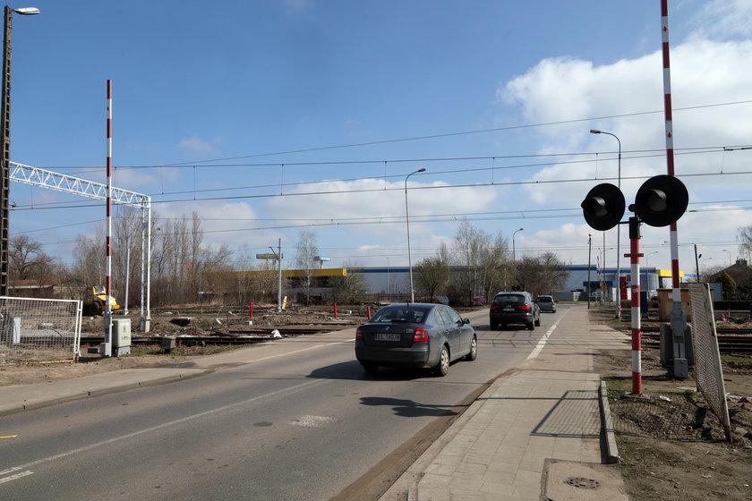 Remont przejazdu kolejowego na Wróblewskiego
