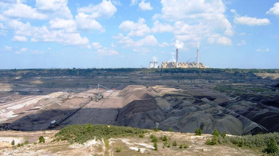 Kopalnia węgla w Bełchatowie
