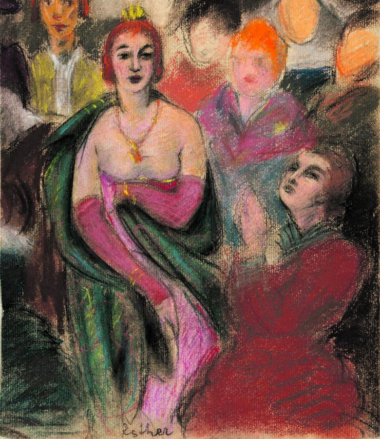 Mosa Pijade, Grupni portret za Ester