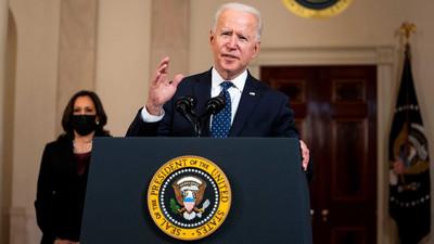 George Floyd: Chauvin conviction a giant step forward, says Biden