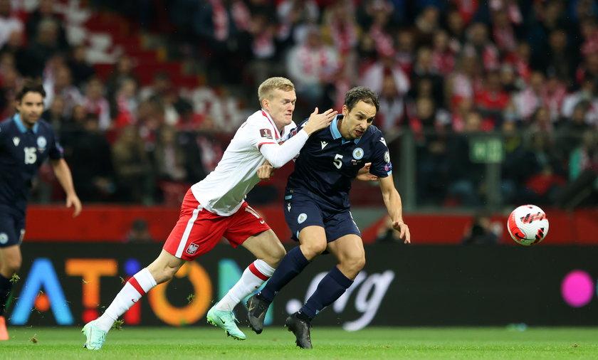 W sobotę biało-czerwoni po raz kolejny odnieśli wysokie zwycięstwo nad San Marino, mecz zakończył się wynikiem 5:0.