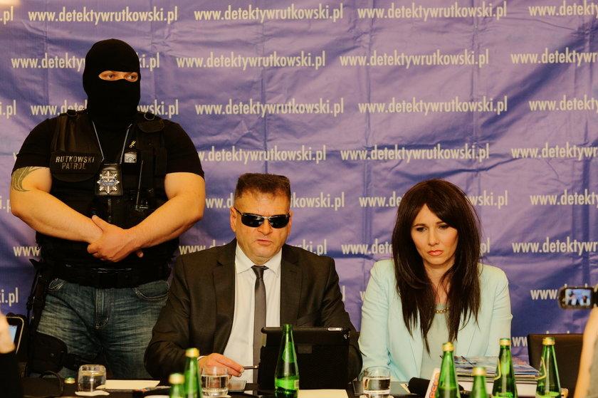 Detektyw Krzysztof Rutkowski i Wiesława Dargiewicz (41 l.)