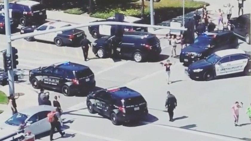 Strzelanina w siedzibie głównej YouTube'a w Kalifornii. Są ranni