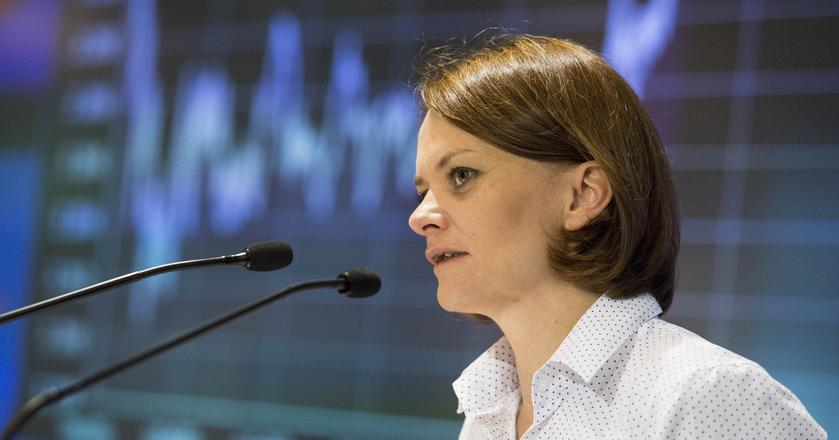 Jadwiga Emilewicz - wiceminister rozwoju. Jest politologiem i menedżerem kultury. Była radną sejmiku małopolskiego.