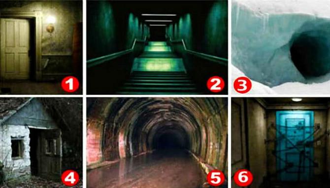 Izaberite ulaz koji vas najviše plaši