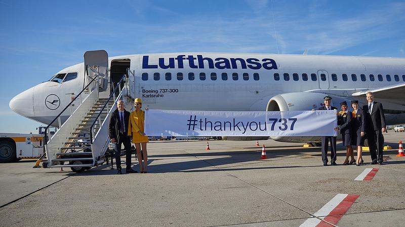 Lufthansa żegna Boeinga 737