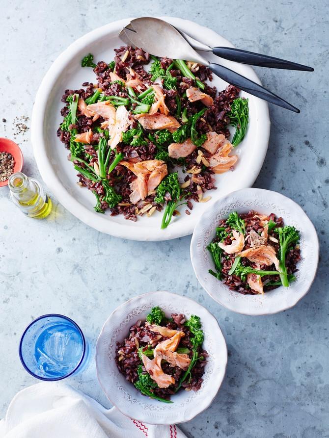 Crni pirinač se sjajno ponaša u salatama