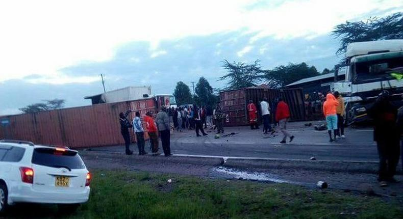 Accident kills two at Migaa