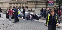 Groza w Londynie! Samochód wjechał w pieszych