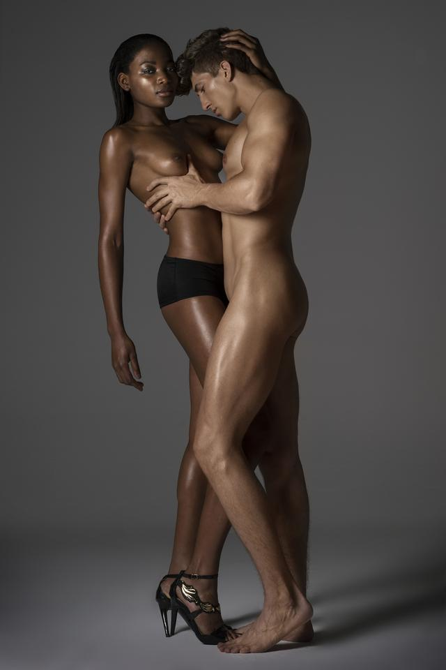 Afrykańskie modele nago