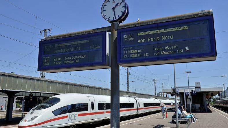 Atak lewicowych ekstremistów spowodował duże utrudnienia na niemieckiej kolei
